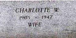 Charlotte W. <I>Wagner</I> Gutgesell
