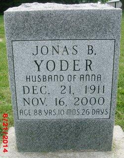 Jonas Yoder