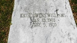 Katie <I>Owens</I> Williams