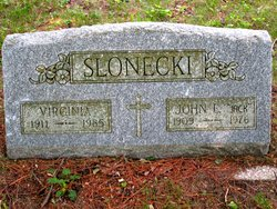 Virginia <I>Franklin</I> Slonecki