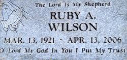 Ruby Mae Wilson