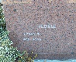 Vivian M Fedele