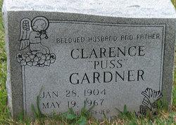 """Clarence """"Puss"""" Gardner"""