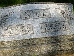 Marjorie M <I>Schweitzer</I> Nice