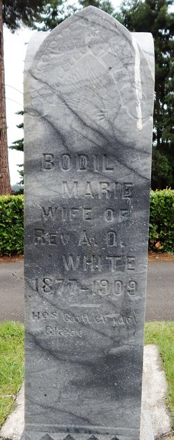 Bodil Marie <I>Meyer</I> White