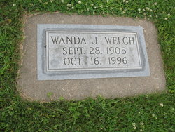 Wanda J. <I>Jones</I> Welch