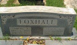 Samuel A Foxhall