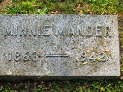 Minnie <I>Kilty</I> Mander
