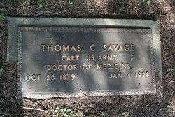 Thomas C Savage