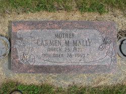 Carmen M. <I>Morin</I> Mally