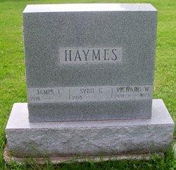 Richard W Haymes