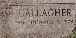 Donald F Gallagher