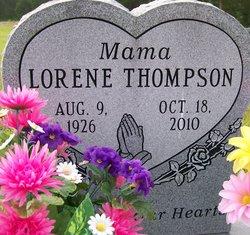 Lorene <I>Bush</I> Thompson