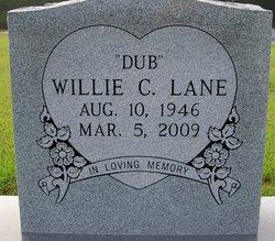 """Willie C. """"Dub"""" Lane"""