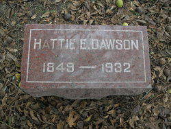 """Harriet """"Hattie"""" <I>Martin</I> Dawson"""