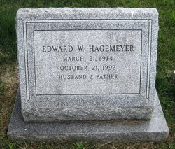 Edward W Hagemeyer
