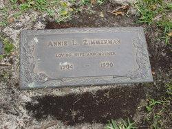 Annie L. Zimmerman