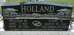 William M Holland