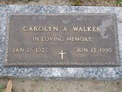 Carolyn A. Walker