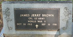 Corp James Jerry Brown