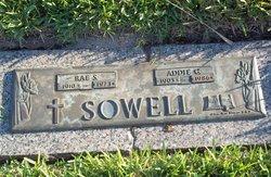 Rae Spears Sowell, Sr