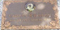 Carolyn Ruth Faubion