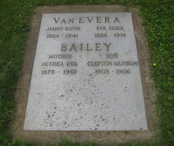 Althea Eva <I>VanEvera</I> Bailey