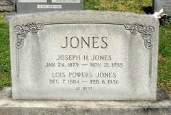 Lois <I>Powers</I> Jones