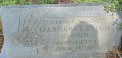 Margaret <I>Fitch</I> Brown
