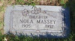 """Margaret Nola """"Nola"""" <I>Whitson</I> Massey"""