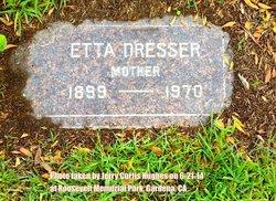 Etta Mae <I>Chappell</I> Dresser