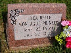 Thea Belle <I>Montague</I> Prinkey