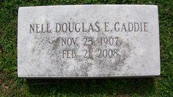 Nell <I>Douglas</I> Gaddie