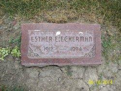 Esther E Eckerman