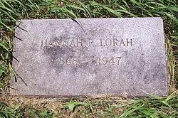 Hannah Rebecca Lorah