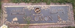 Grady E Solomon