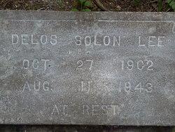 Delos <I>Solon</I> Lee