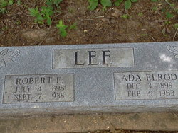 Robert Ernest Lee