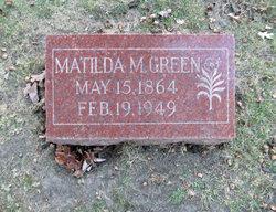 Matilda M. Green