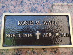 Rosie M. Wall