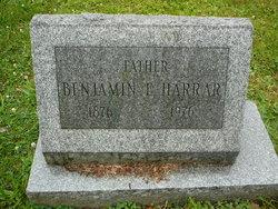 Benjamin E Harrar