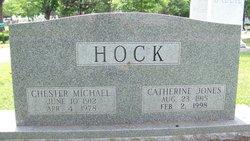 Catherine <I>Jones</I> Hock