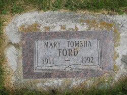 Mary <I>Tomsha</I> Ford