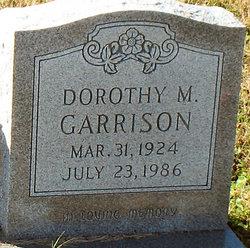 Dorothy M Garrison