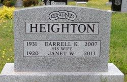 Janet Webster <I>MacFarlane</I> Heighton