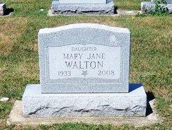 Mary Jane Walton