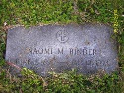 Naomi M Binder