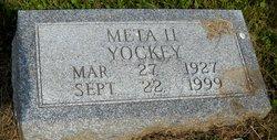 Meta H Yockey
