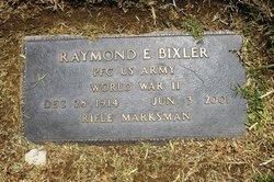 PFC Raymond E Bixler