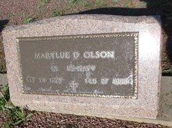 MaryLue D. Olson